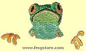 Three-Piece Frog Pocket Iron-On