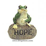 Little Garden Frog: HOPE