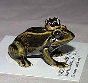 Porcelain Miniature: Frog Prince