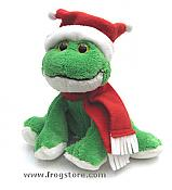 Holiday Frog with Joker Hat