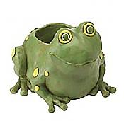 Frog Flowerpot Container