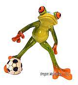 Frankie Frog Delivers the Kick