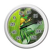 Indoor/Outdoor Tree Frog Thermometer