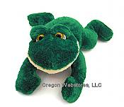 """RUSS"" Silky Soft Plush Frog"