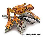 Harlequin Frog Figurine