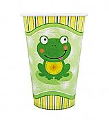 Froggy Frog 12-oz Party Cups, pk/8