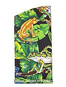 Jungle Frogs Glasses Case