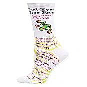 Red-Eyed Treefrog Fact Socks