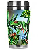 Mugzie Red-Toed Tree Frog Travel Mug