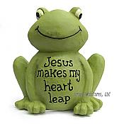 """Jesus Makes My Heart Leap"" Little Frog"