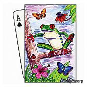 Red Eyed Tree Frog Playing Cards