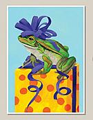 Toadally Awesome  Frog Birthday Card