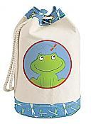 Fun Frog Barrel Tote