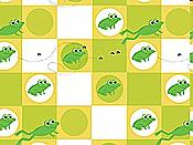 Checkerboard Frogs Tissue Paper, 5 shts