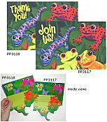 Frogs & Friends Thank-You Notes