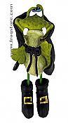 Count Frogula Halloween Frog