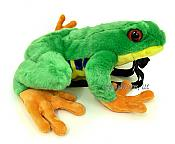 Kids Plush Tree Frog Backpack