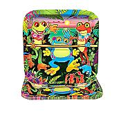 Tropical Frog Large Square Plate