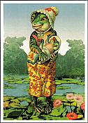 Frog Happy Mother's Day Card