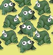 Floating Big Vinyl Frogs (12)