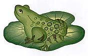 Lilypad Frog Wallpaper Cutouts (16)