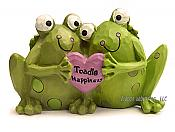 Toadle Happiness Loving Frog Couple