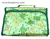 Sateen Frog Hanging Travel Bag