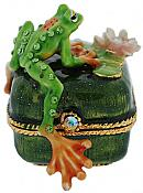 Jeweled Frog on Ring Box