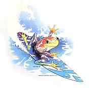 Surfing Frog T-Shirt