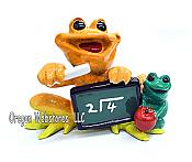 Kitty's Critters Frog: Teach