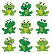 Simply Smiling Frog Stickers