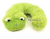 Kids Plush Frog Neck Pillow