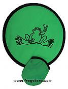 Peace Frogs: Flexible Folding Frisbee