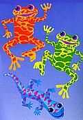 Frogs & Friends Jointed Cutouts