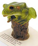 Porcelain Miniature: Tree Frog