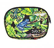 Jungle Frogs Cosmetic Pouch