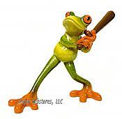 Frankie Frog Swings the Bat