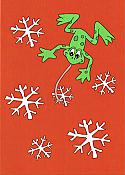 """Celebrate the Season!"" Frog Holiday Boxed Cards (10)"