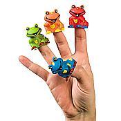 Tree Frog Vinyl Finger Puppets (12)