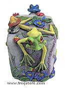 Frogs Magic Lock Box