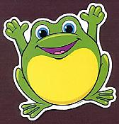 Frog Accent Cutouts (36)