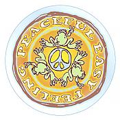 "Peace Frogs: ""Peaceful Easy Feeling"" Decal"