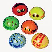 Colorful Frog Popper Toys, 12 pcs