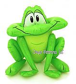 Hoppy Green Inflatable Frog