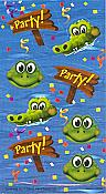 Frog Swamp Party Stickers