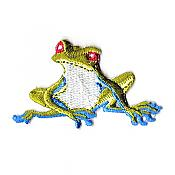 Blue-Legged Frog Iron-On