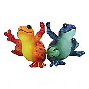 Peace Frogs: High Five Frogs Salt & Pepper Shakers