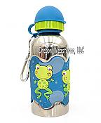 Hoppin Happy Frog Stainless Steel Water Bottle