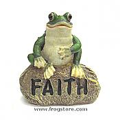 Little Garden Frog: FAITH
