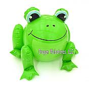 Smiling Frog Beach Ball